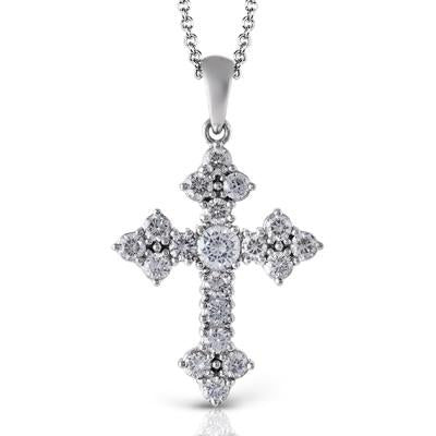 Pointed Cross Necklace