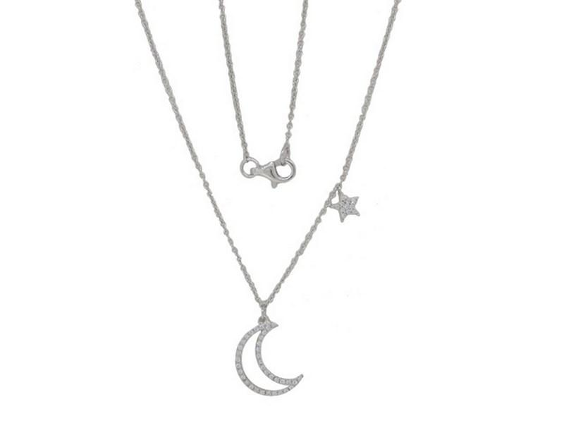 Night Sky Diamond Necklace