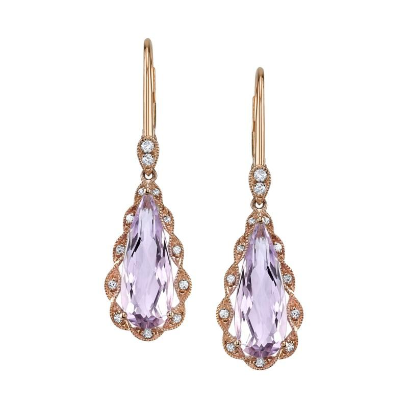 Lilac Amethyst Earrings