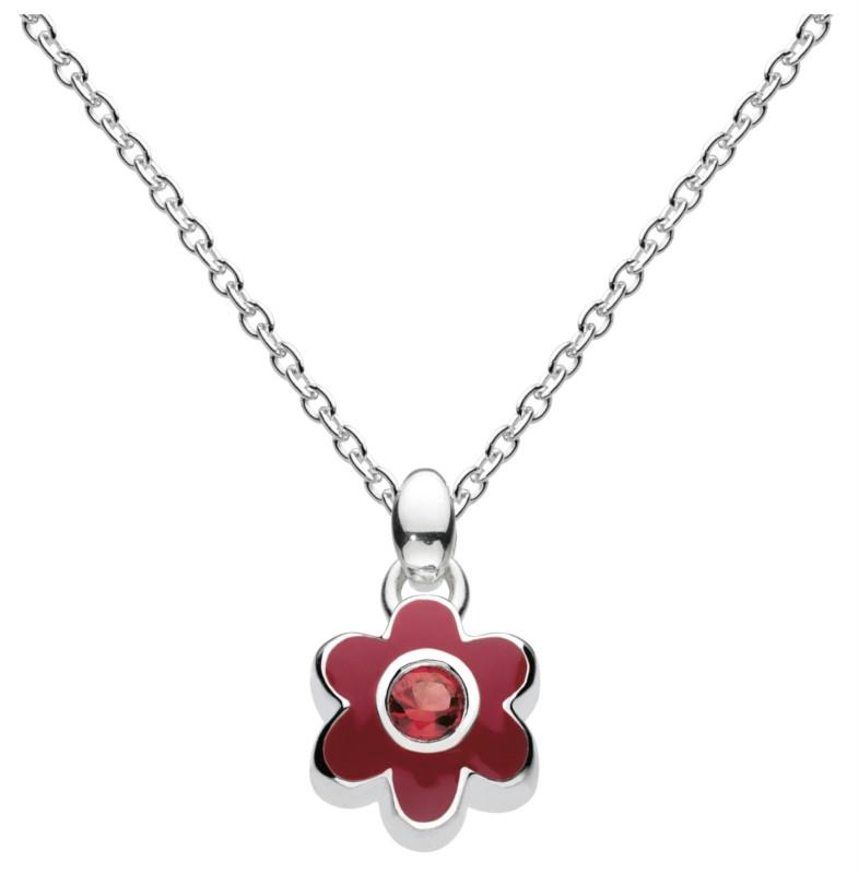 July Flower Necklace