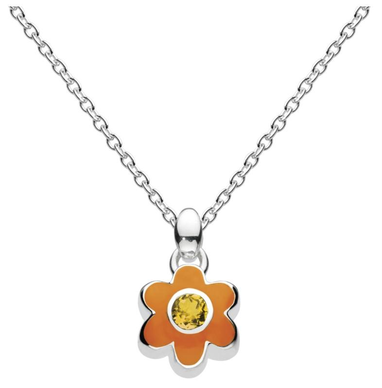 November Flower Necklace