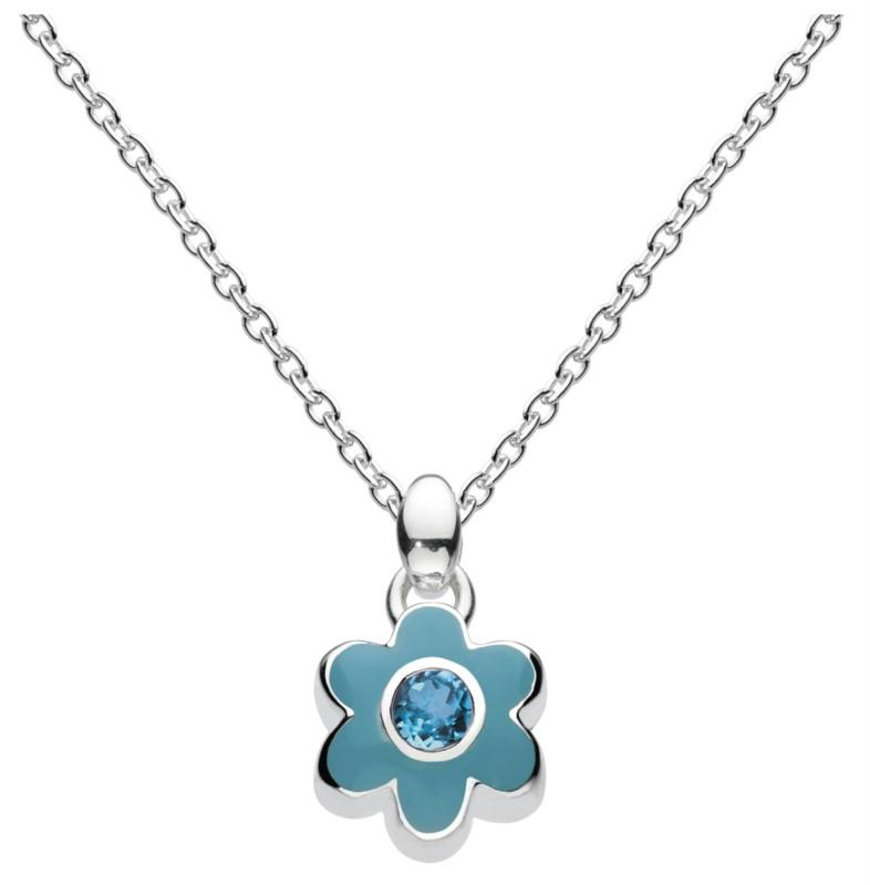 December Flower Necklace