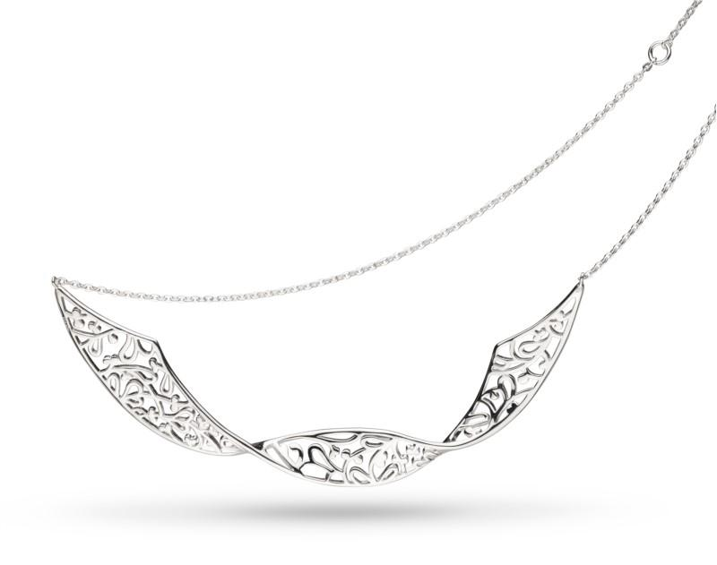 Flourish Double Twist Necklace
