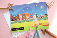 Netherlands Travel Postcard
