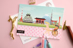 Japan Travel Postcard