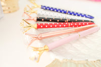 Diamond Pen, Gold Pen, Rose Gold Pen, Crystal Gem Pen