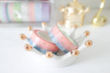 Hazy Dusk Bow Washi with Gold Foil