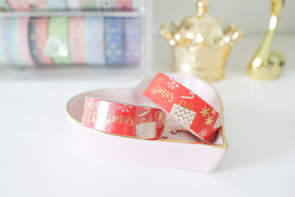 X'mas Gift with Gold foiling