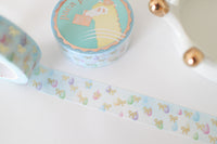 Rainy Bow Washi with Gold Foiling