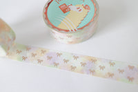 Vineyard Bow Washi with Rose Gold Foiling