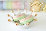 Melon Bow Washi with Silver Foiling