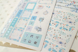 Christmas Time Foil Hobonichi Weeks Sticker - H013