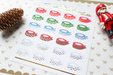 Foiled Washi Roll Stickers (X'mas version) - W016