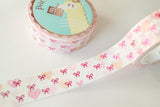 Heart Bow Washi 2.0 with Rose Pink Foil