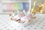 Cherry Blossom Bow Washi with Rose Gold Foil