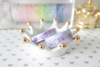 Lavender Galaxy Set (15mm+10mm) with Purple & Holo Silver Foiling