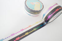 10mm Rainbow Bow Line Set with Rainbow Foil