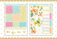 Summer Love Gold Foil Weekly Kit- K010