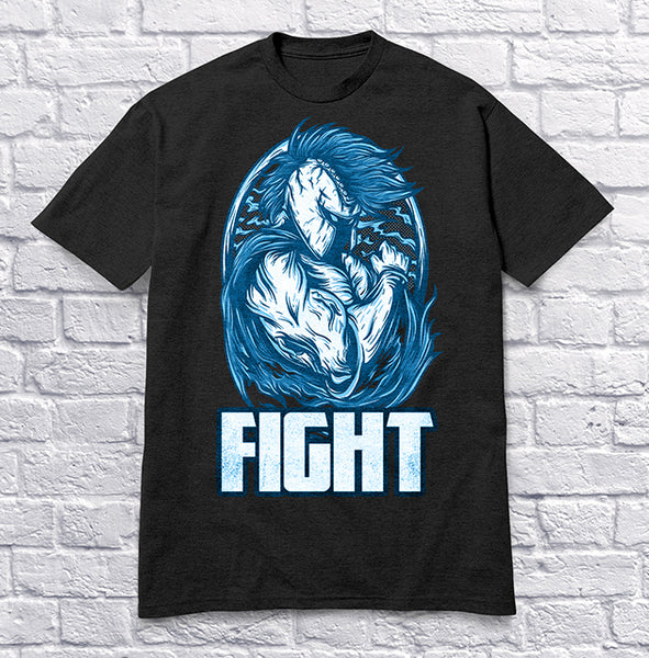 Fight - Blue