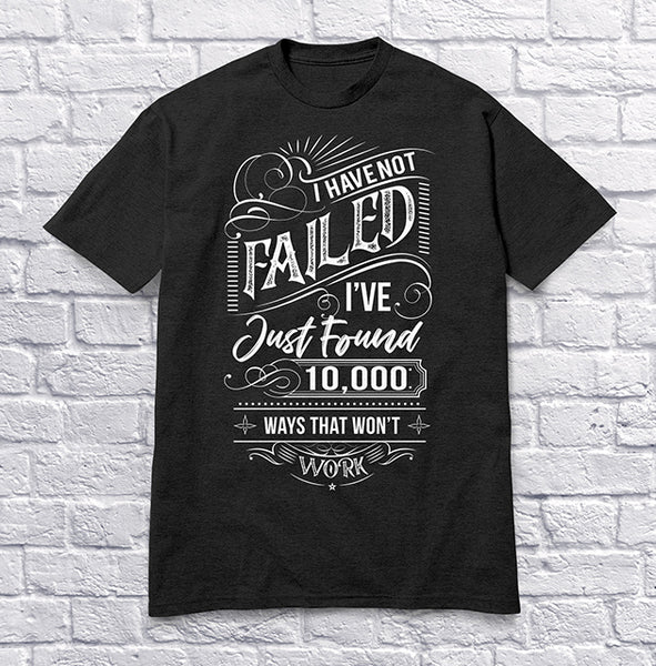 I Have Not Failed