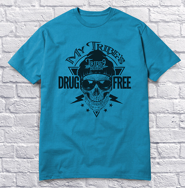 My Tribe's Drug Free - Blue