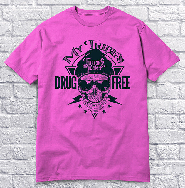My Tribe's Drug Free - Pink