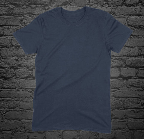 Custom Printed Navy T-Shirt