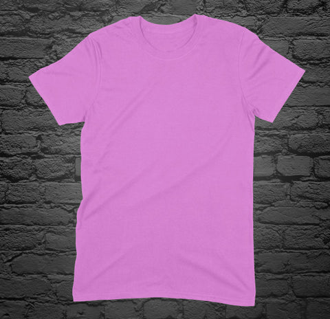 Custom Printed Pink T-Shirt
