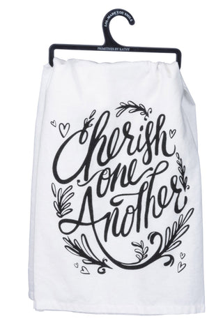 Cherish One Another - Towel
