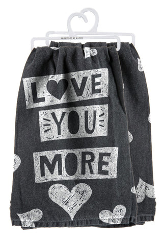 Love You More - Towel