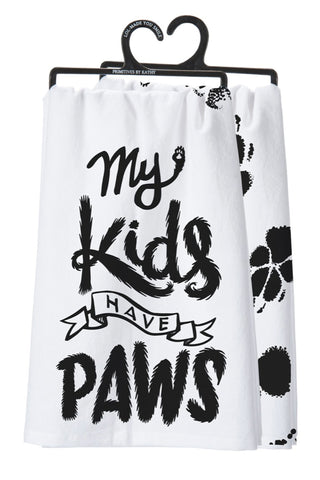My Kids Have Paws - Towel