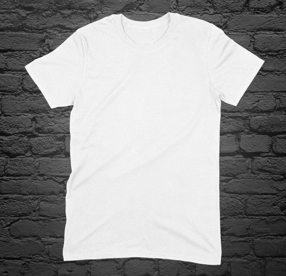 Custom Printed White T-Shirt