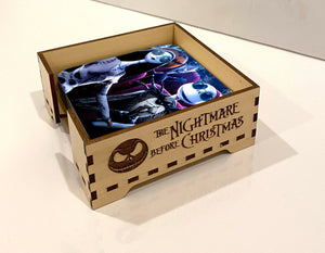 The Nightmare Before Christmas Coasters and Coaster Holder, Nightmare Before Christmas Coasters