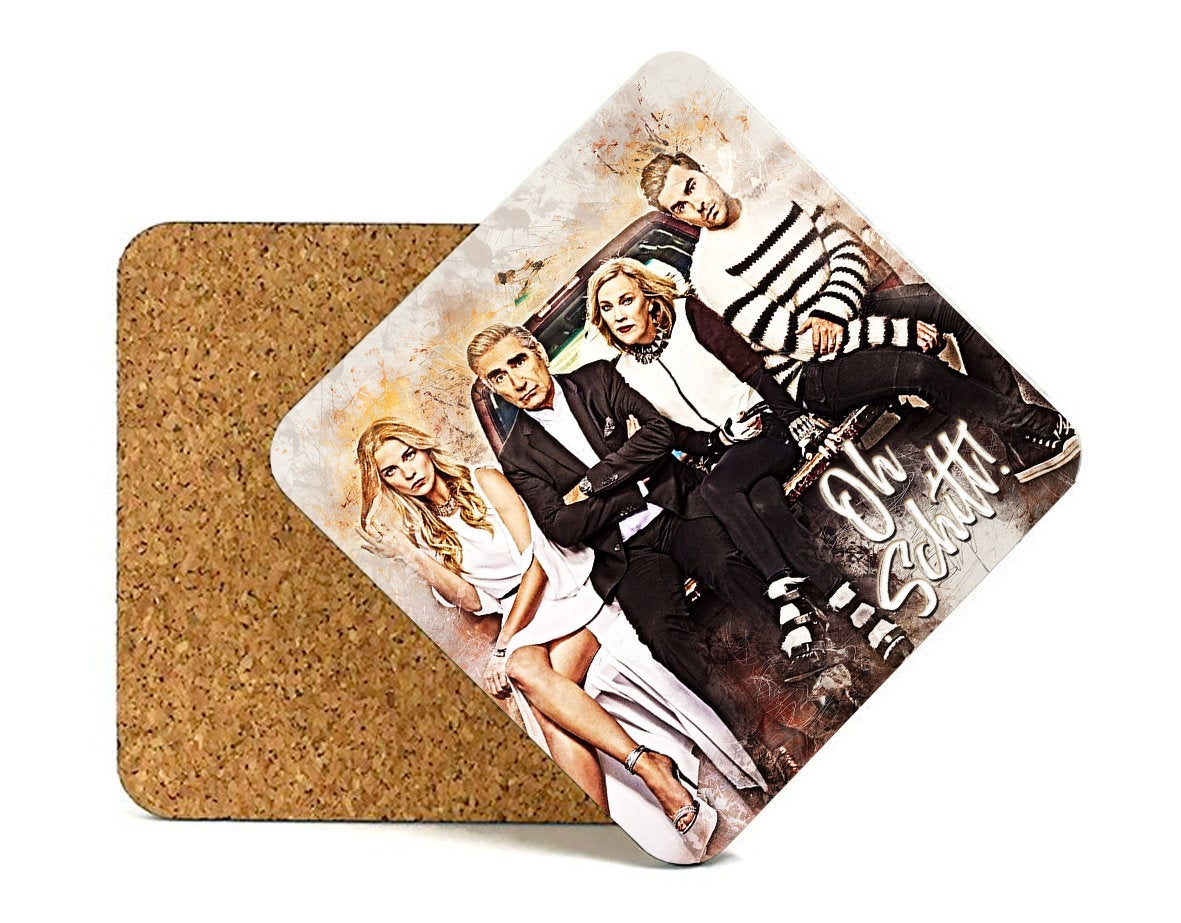 Schitts Creek Coasters, Schitts Creek Gifts, Schitts Creek Decorations, Schitts Creek Decor