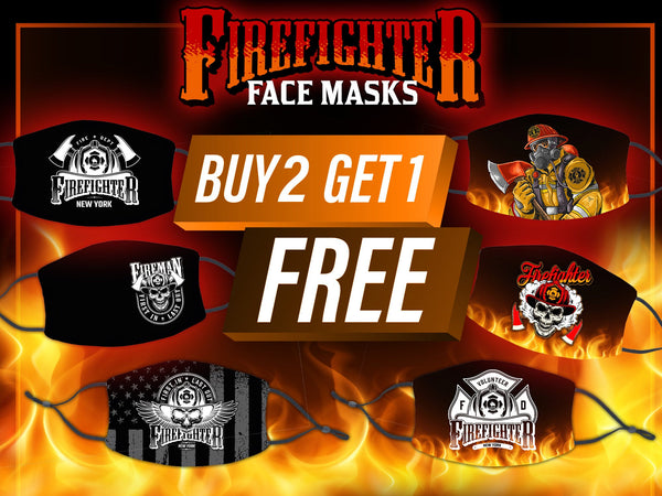 Firefighter Face Mask, Firefighter Mask, Firefighter Face Mask Washable