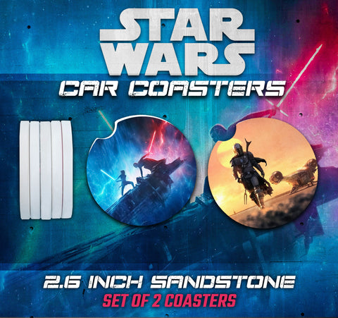Star Wars Car Coasters, Star Wars Accessories, Star Wars Car Coaster, Star Wars Gifts