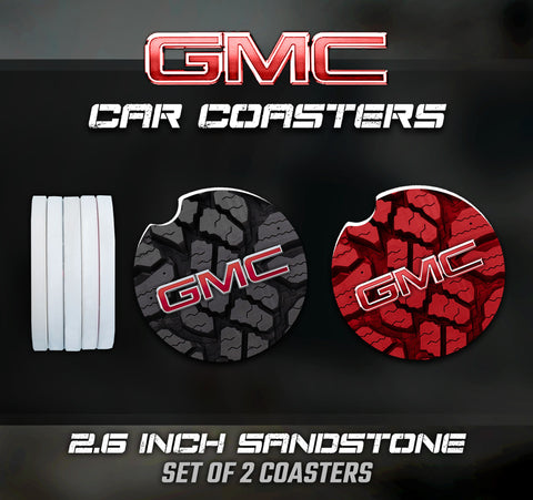 GMC Car Coasters, GMC Accessories, GMC Car Coaster