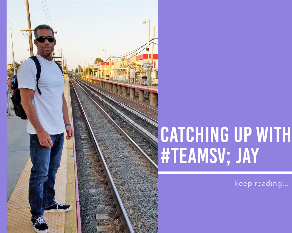 Catching Up with #TeamSV Jay