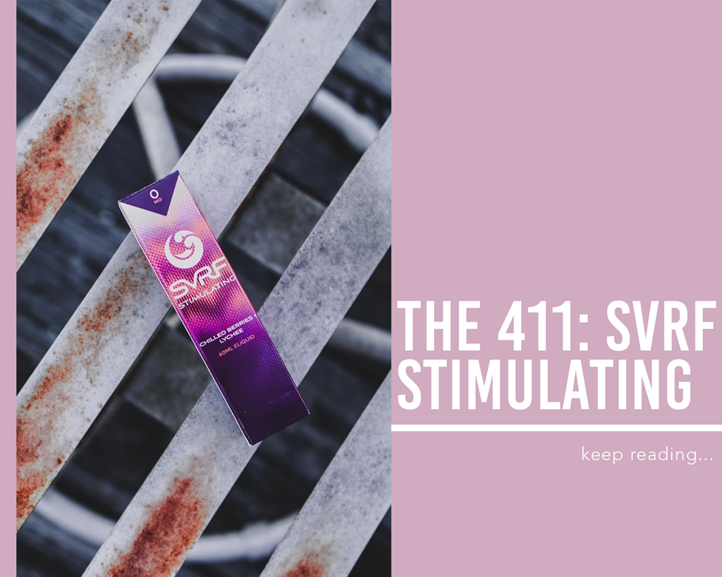 The 411: SVRF Stimulating