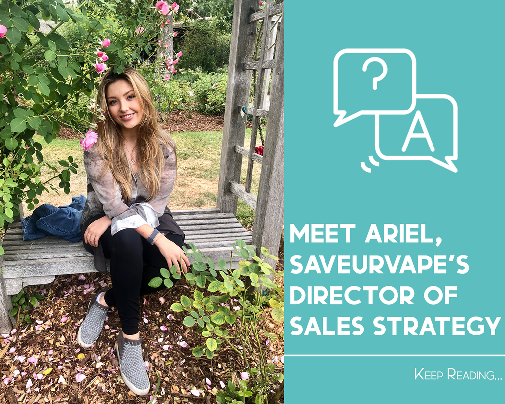 Meet Ariel, SAVEURVAPE'S Director of Sales Strategy