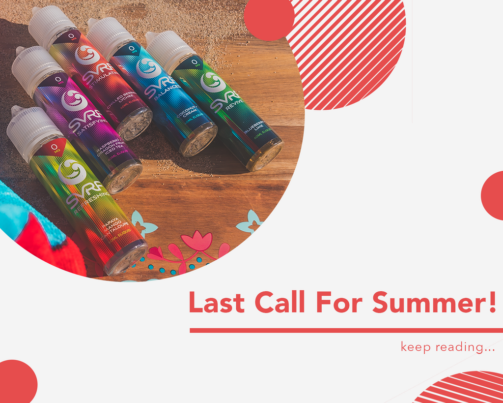 Last Call for Summer