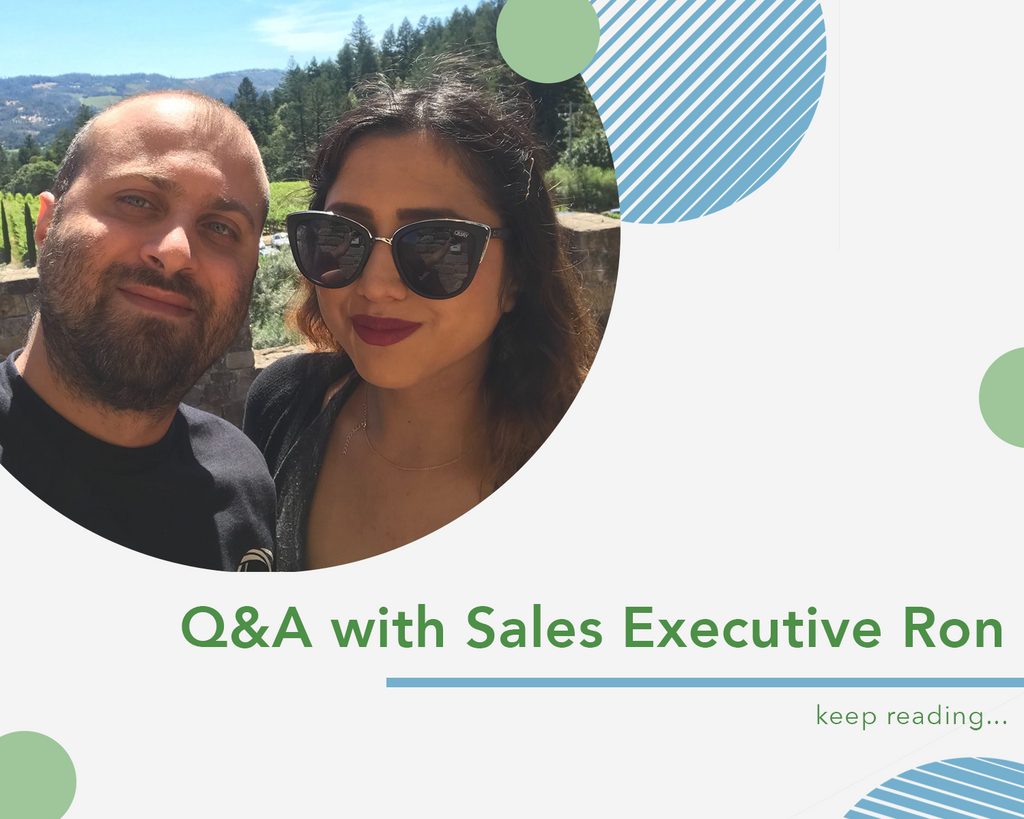 Q&A with Sales Executive Ron