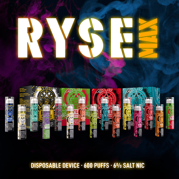 Ryse Max Disposable Single (Choose Flavor)