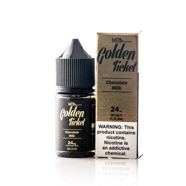 Met4 Golden Ticket Salt Nic - 30Ml 24Mg E-Liquid