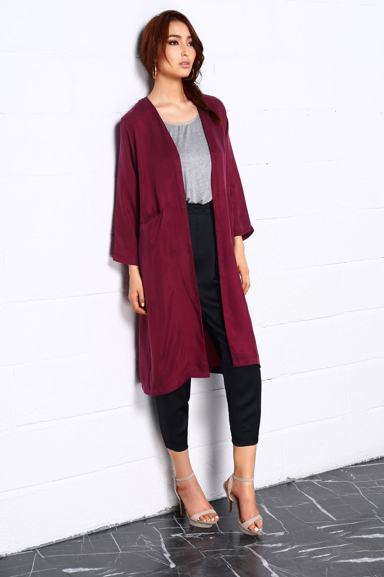 Night dance Long Coat