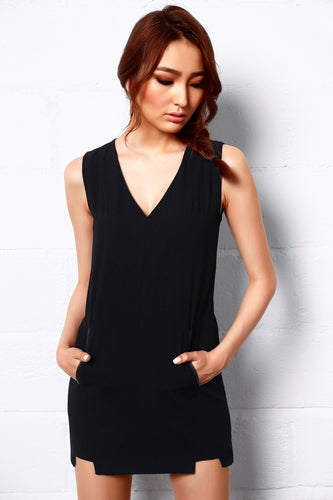 Dark Castle V Neck Dress