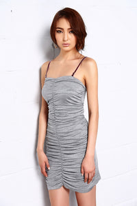 Noble Stretchy Ruched Dress