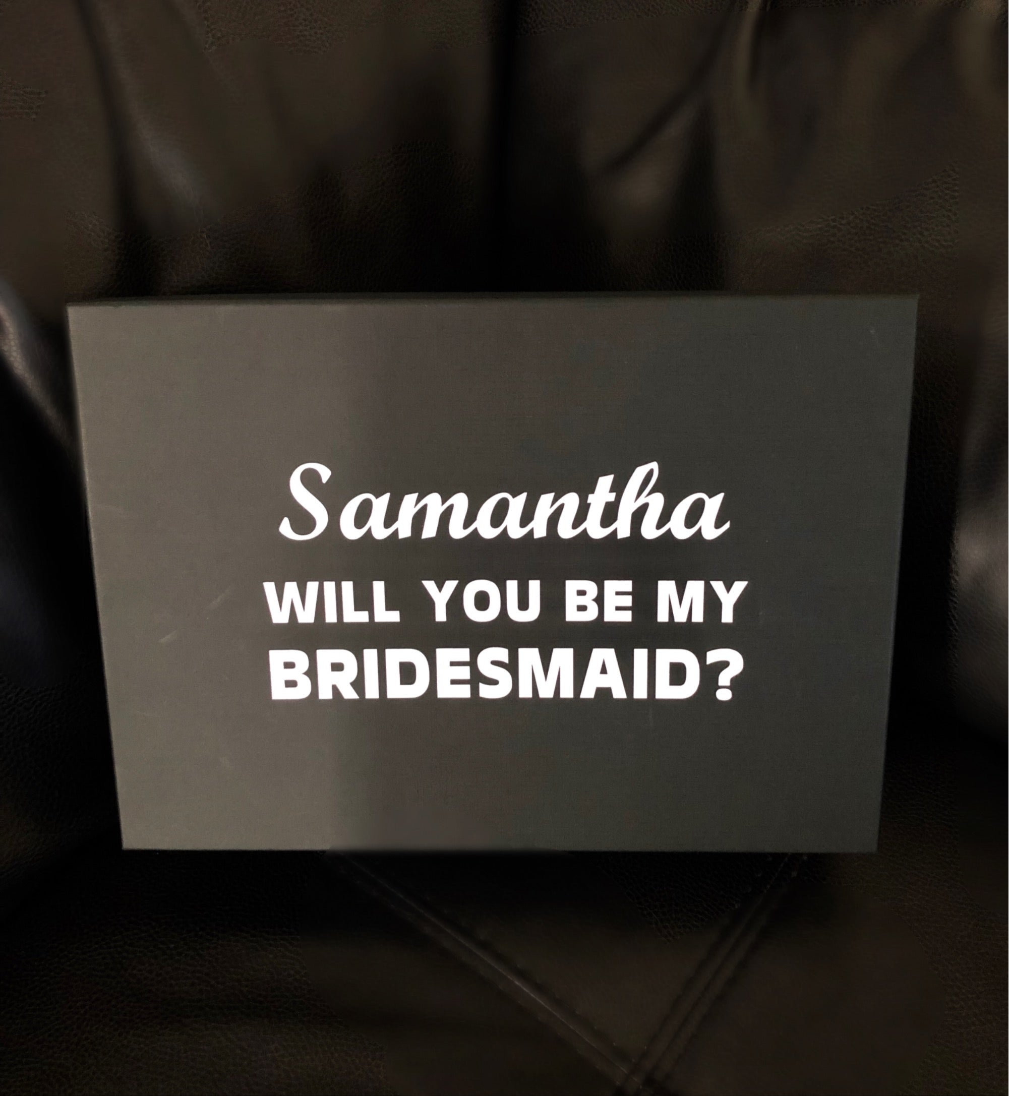 Bridal Party Proposal Box
