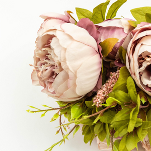 Artificial Peony Flowers – 8 Head