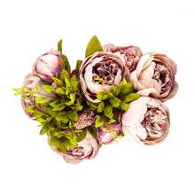 Load image into Gallery viewer, Artificial Peony Flowers – 8 Head